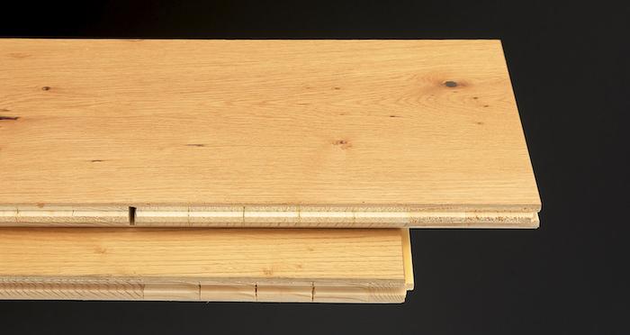 Grande Natural Oak Brushed & Oiled Engineered Wood Flooring - Descriptive 1