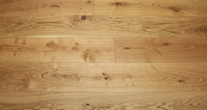 Grande Natural Oak Brushed & Oiled Engineered Wood Flooring - Descriptive 2