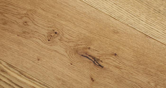 Grande Natural Oak Brushed & Oiled Engineered Wood Flooring - Descriptive 3