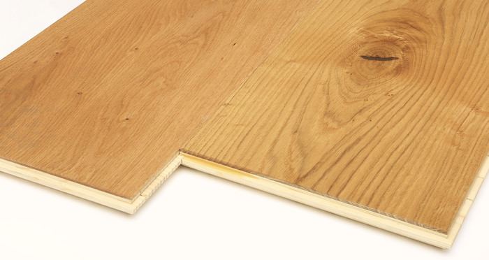 Grande Natural Oak Brushed & Oiled Engineered Wood Flooring - Descriptive 7