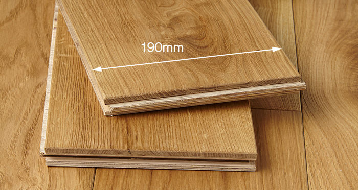 Farmhouse Natural Oak Brushed & Oiled Engineered Wood Flooring - Descriptive 3