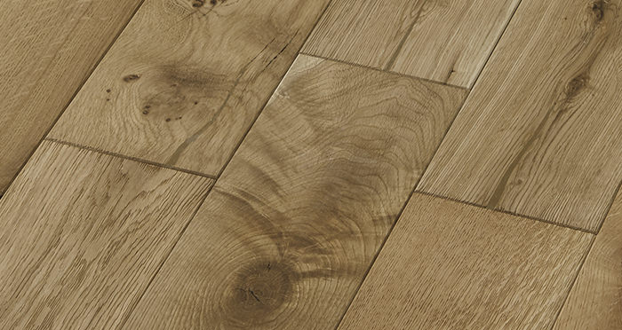 Penthouse Natural Oak Brushed & Oiled Engineered Wood Flooring - Descriptive 4
