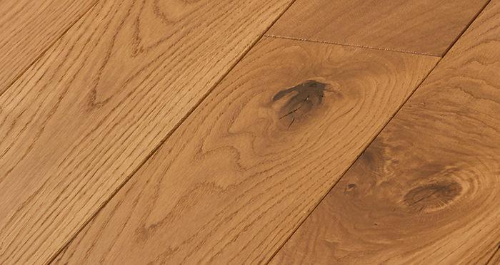 Deluxe Golden Oak Solid Wood Flooring - Descriptive 2