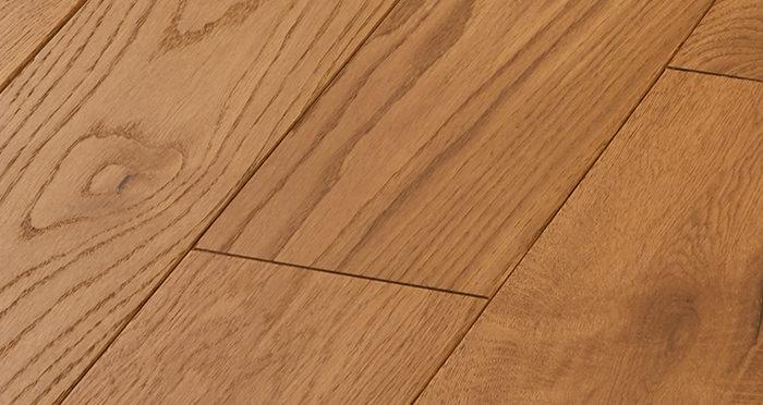 Deluxe Golden Oak Solid Wood Flooring - Descriptive 4