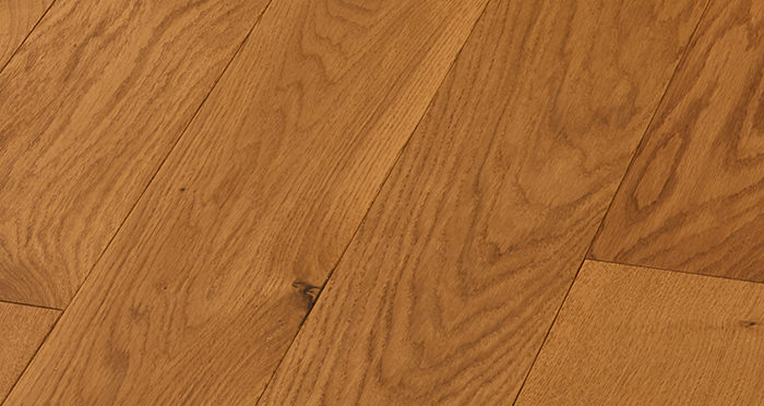 Deluxe Golden Oak Solid Wood Flooring - Descriptive 5