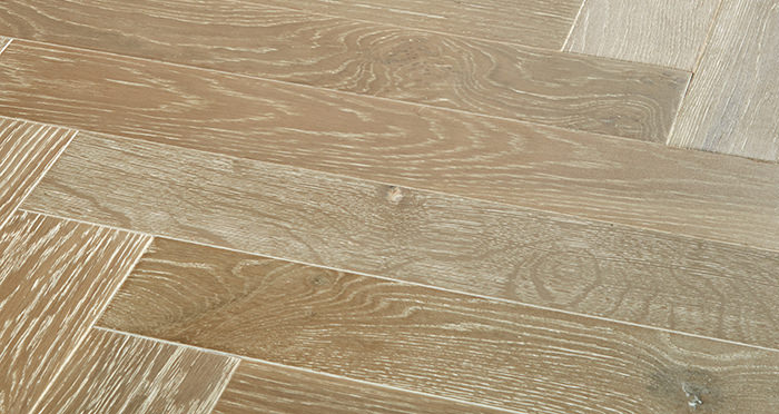 Branscombe Heritage Smoked Herringbone Oak Engineered Wood Flooring - Descriptive 1