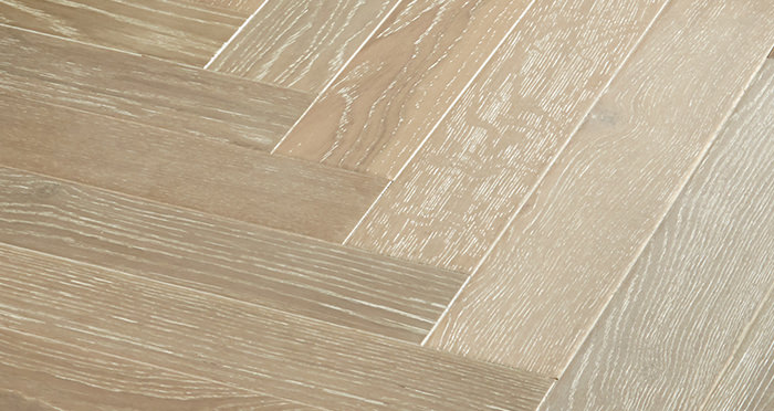 Branscombe Heritage Smoked Herringbone Oak Engineered Wood Flooring - Descriptive 2
