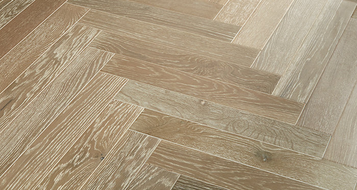 Branscombe Heritage Smoked Herringbone Oak Engineered Wood Flooring - Descriptive 3