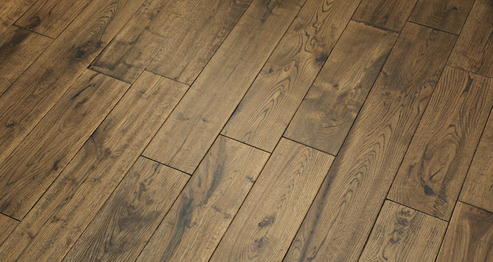 Handscraped Whiskey Oak Solid Wood Flooring - Descriptive 7