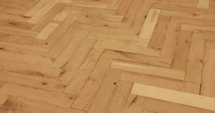 Unfinished Parquet Oak Solid Wood Flooring - Descriptive 2