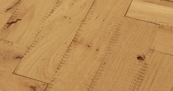 Unfinished Parquet Oak Solid Wood Flooring - Descriptive 3