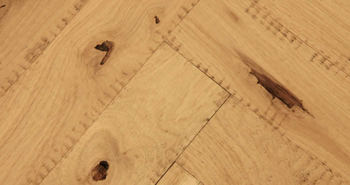 Unfinished Parquet Oak Solid Wood Flooring - Descriptive 4