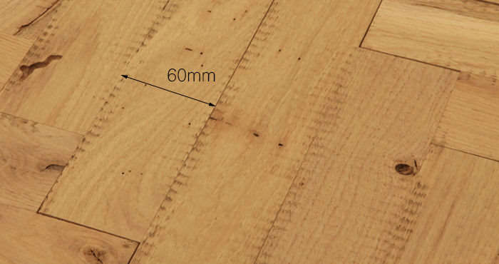Unfinished Parquet Oak Solid Wood Flooring - Descriptive 5