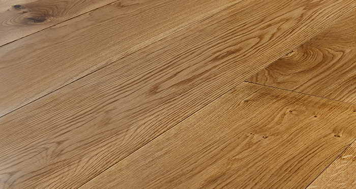 Grand Imperial Natural Oak Lacquered Engineered Wood Flooring - Descriptive 1