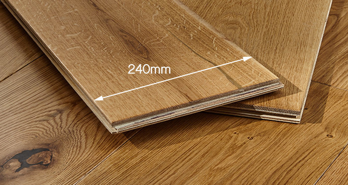 Grand Imperial Natural Oak Lacquered Engineered Wood Flooring - Descriptive 3
