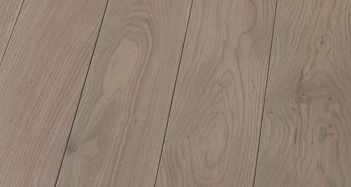 Elegant Silk Grey Oak Brushed & Oiled Solid Wood Flooring - Descriptive 5
