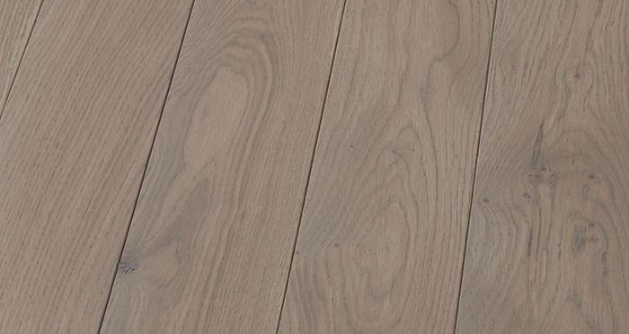 Elegant Silk Grey Oak Brushed & Oiled Solid Wood Flooring - Descriptive 5