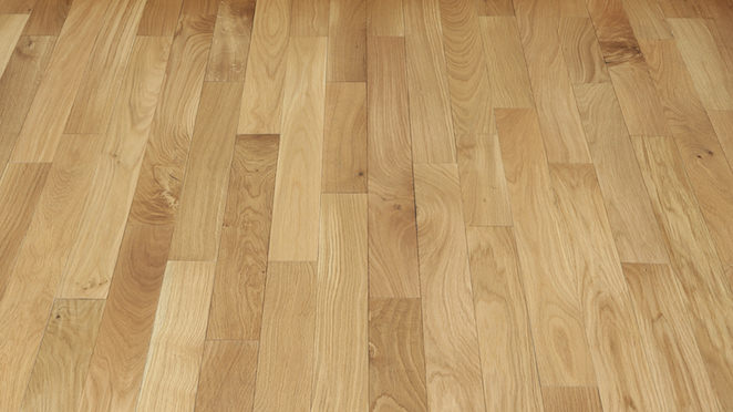 Classic Oak Natural Brushed & Oiled Solid Wood Flooring - Descriptive 2