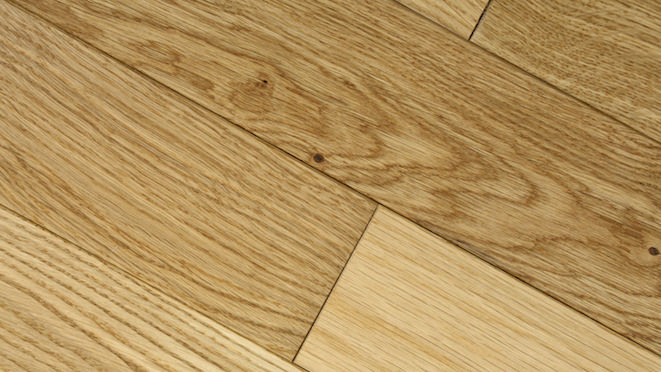 Classic Oak Natural Brushed & Oiled Solid Wood Flooring - Descriptive 4