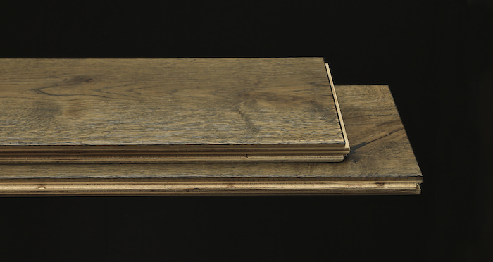 Aged Cottage Oak Brushed & Lacquered Engineered Wood Flooring - Descriptive 1