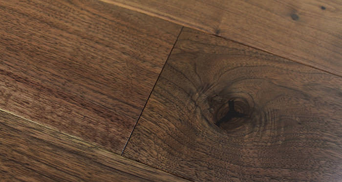 American Black Walnut Lacquered Engineered Wood Flooring - Descriptive 4