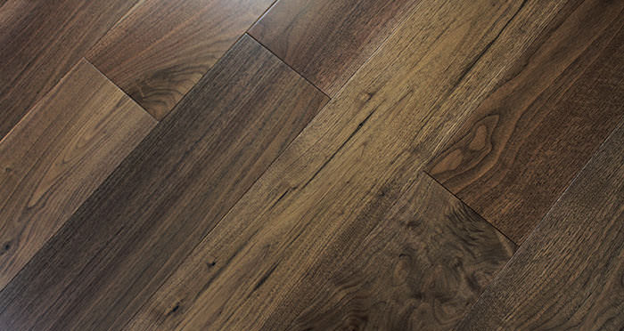American Black Walnut Lacquered Engineered Wood Flooring - Descriptive 7