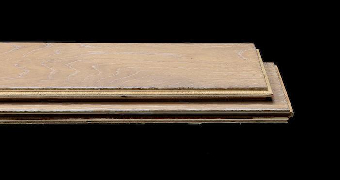 Brooklyn Pebble Herringbone Oak Engineered Wood Flooring - Descriptive 1