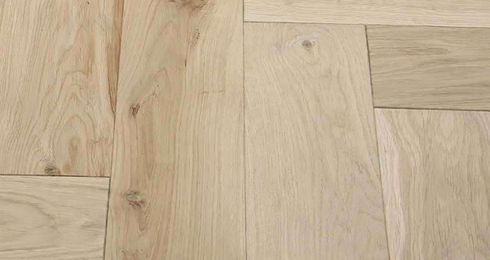 Unfinished Luxury Parquet Oak Solid Wood Flooring - Descriptive 1