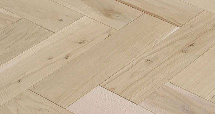 Unfinished Luxury Parquet Oak Solid Wood Flooring - Descriptive 2