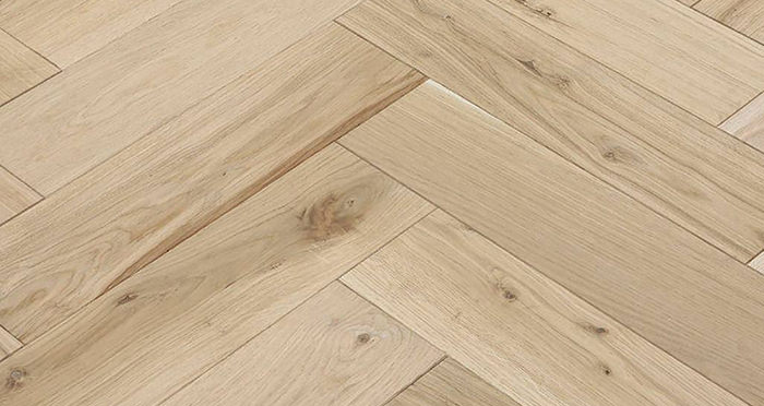 Unfinished Luxury Parquet Oak Solid Wood Flooring - Descriptive 3