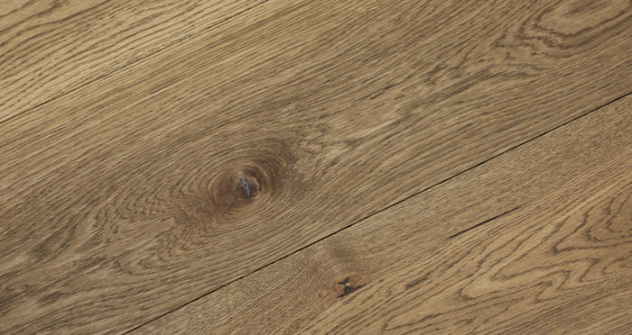 Grande Castle Brown Oak Oiled Engineered Wood Flooring - Descriptive 3