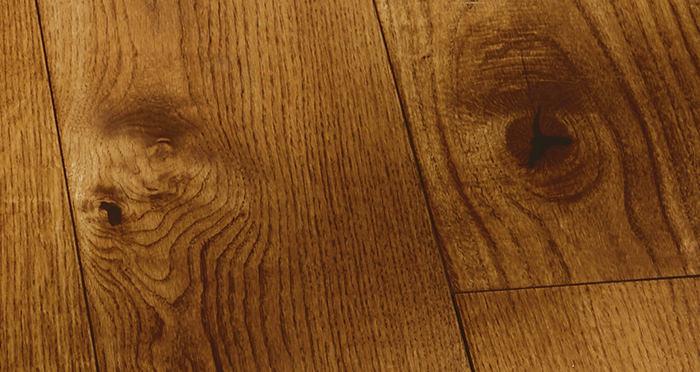 Prestige Cinnamon Oak Solid Wood Flooring - Descriptive 2