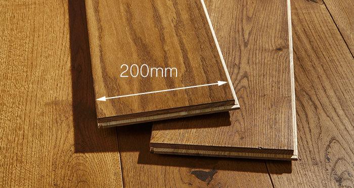 Prestige Cinnamon Oak Solid Wood Flooring - Descriptive 3