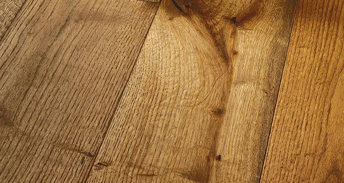 Prestige Georgian Oak Solid Wood Flooring - Descriptive 1