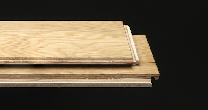 Natural Click Oak Lacquered 150mm Engineered Wood Flooring - Descriptive 1