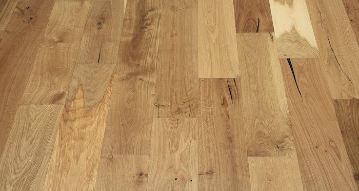 Natural Click Oak Lacquered 150mm Engineered Wood Flooring - Descriptive 3