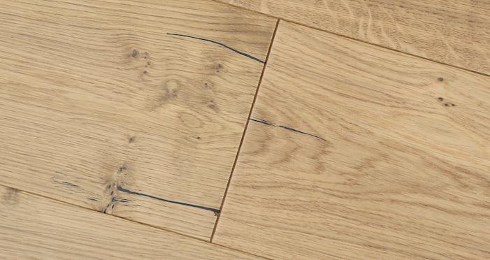 Natural Click Oak Lacquered 150mm Engineered Wood Flooring - Descriptive 4