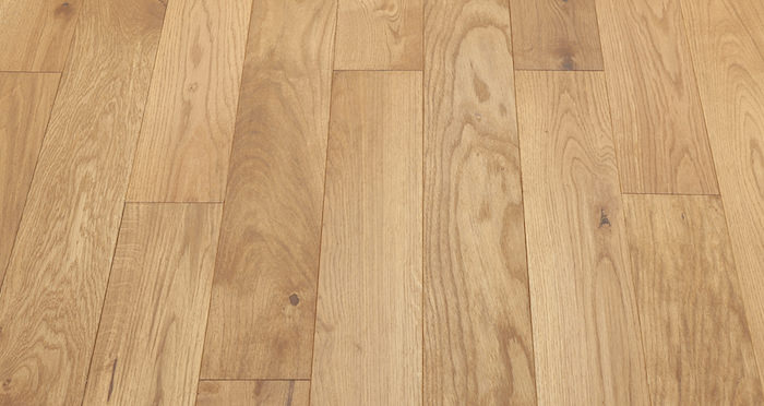 Golden Oak 125mm Oiled Solid Wood Flooring - Descriptive 2