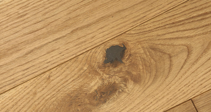 Golden Oak 125mm Oiled Solid Wood Flooring - Descriptive 3