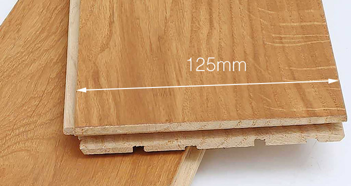 Golden Oak 125mm Oiled Solid Wood Flooring - Descriptive 4