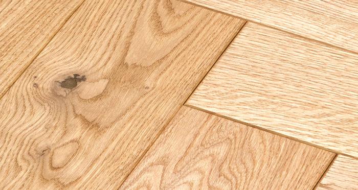 Luxury Parquet Natural Oiled Oak Solid Wood Flooring - Descriptive 3