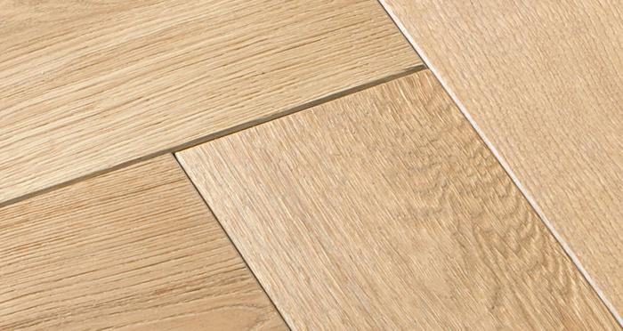 Luxury Whitewashed Parquet Oak Solid Wood Flooring - Descriptive 5