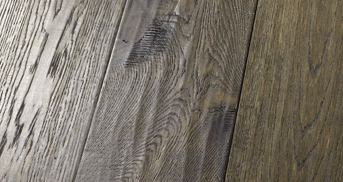 Smoked Old French Oak Engineered Wood Flooring - Descriptive 2