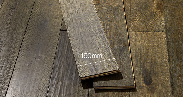 Smoked Old French Oak Engineered Wood Flooring - Descriptive 5