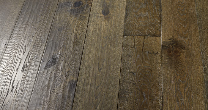 Smoked Old French Oak Engineered Wood Flooring - Descriptive 7