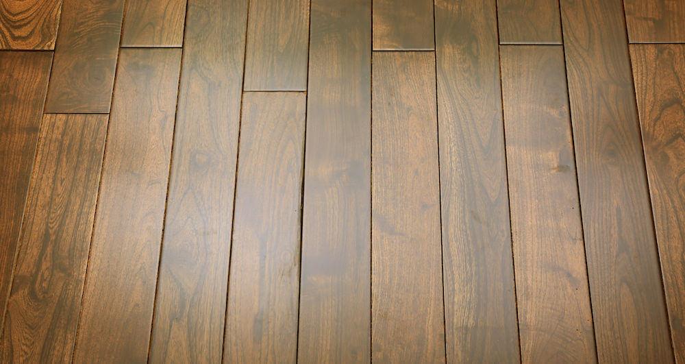 Pacific Mahogany Burgundy Lacquered Solid Wood Flooring - Descriptive 6