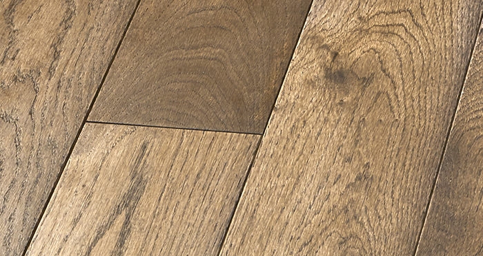 Elegant Espresso Oak Brushed & Oiled Solid Wood Flooring - Descriptive 4