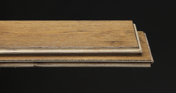 Brooklyn Golden Herringbone Oak Engineered Wood Flooring - Descriptive 1