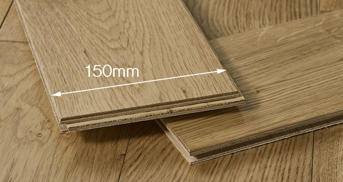 Loft Natural Oak Lacquered Engineered Wood Flooring - Descriptive 4
