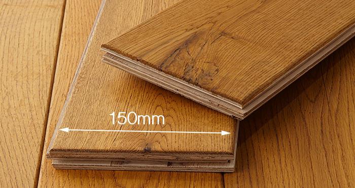 Manor Antique Golden Oak Brushed & Oiled Engineered Wood Flooring - Descriptive 3
